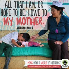 Thank you to all the women who make a world of difference in all of our lives every day! http://BeFair.org/ #FairMoms #MothersDay #quote #inspirationalquote #inspiration