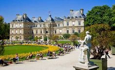 Los jardines de Luxemburgo, Paris