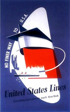 "United States Lines - S.S. America - The ""Grand Forerunner"" to the SS United States!"
