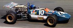 Patrick Depailler - Tecno TF71 Cosworth FVA - Équipe Elf Tecno - XXXI Grand Prix Automobile de Pau 1971
