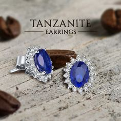 Tanzanite Earrings !