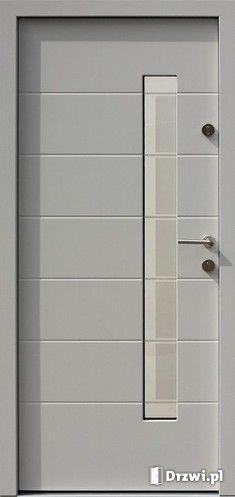 Produkt:  Drzwi AFB 476,1ds1 (AFB) Exterior Doors, Bathroom Medicine Cabinet, Door Handles, Projects To Try, House, Home Decor, Model, Doors, Facades