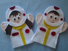 Astronaut boy and girl Puppets $9.99