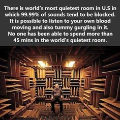 The World's Quietest Room in U.S.