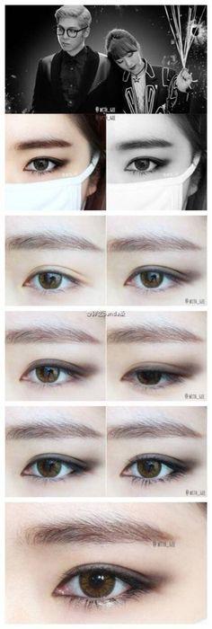 Makeup kpop style