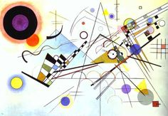Composition VIII, 1923, oil on canvas, by Wassily Kandinsky