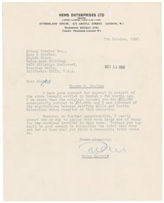 Brian Epstein's Beatles lawsuit at RR Auction