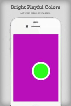 Color Dots ($0.99) Color Dots is a colorful visual tracking game that will hold a child's attention. ● Vibrant, Visually Stimulating Colors  ● Popping Sounds  ● Pop Vibration (iPhone)  ● Smooth Animations ● Remove Dot Border  ● Change Dot Size  ● Change Dot Speed  ● Set Max Levels  ● Remove Dot Sound  ● Enable Dot Vibration (iPhone)  Color Dots starts out with a colorful bouncing dot. When you pop the first dot, two dots show up to replace it. After popping those 2, 3 dots show up and so on.