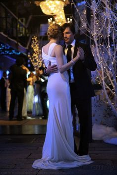 Lily and Rufus Gossip Girl Love this pic! Wish they were endgame.