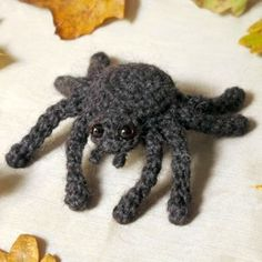 Free Halloween Spider Crochet Patterns