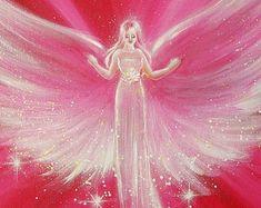 Título: siempre allí para usted -8 x 12 pulgadas -brillante -Foto limitada de uno de mis cuadros Ángeles son las naturalezas de la luz, que pertenecen a un más alto mental dimensión. Tomar la fuerza de protección de los Ángeles a su hogar. Toman su fuerza cariño apoyo a su vida. Ángel nos acompañe en nuestro camino e inspirar a cada uno de nosotros en una manera totalmente especial e individual. Protegen y toca nuestro espíritu y nuestra alma con el amor, con ternura y con fuerza que no...