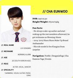 Cha Eun-woo or Lee Dong-min (Astro) Astro Member Profile, Japanese Phrases, Lee Dong Min, Cha Eun Woo Astro, Pre Debut, Astro Boy, Korean Wave, Boy Models, Love And Respect