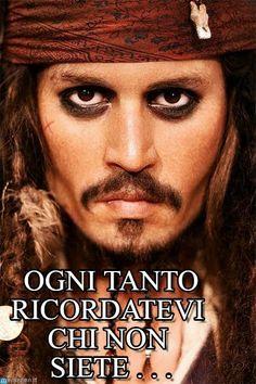 Johnny Depp (Jack Sparrow, Pirates of the Caribbean)