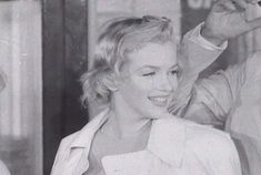 """Marilyn on her arrival in England to film """"The Prince and The Showgirl"""", July 14th 1956."""