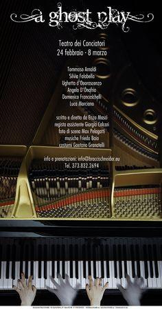 Un cast di artisti d'eccezione per A Ghost Play , il nuovo lavoro della compagnia Bracci-Schneider, in prima assoluta al Teatro dei Conciatori a Roma. Tommaso Arnaldi, volto noto di cinema e tv, e Ughetta d'Onorascenzo... [Stagione teatrale 2014/ 2015]