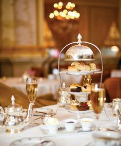 Afternoon tea at St Regis New York