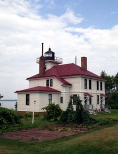Raspberry Island, WI. Located on the southwestern tip of Raspberry Island, part of the Apostle Island National Lakeshore.