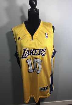 Adult Men Steve Nash L.A. Lakers #10 Jersey  | eBay Nba, Basketball, Sports, Tops, Fashion, Moda, La Mode, Sport, Shell Tops
