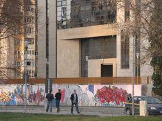 Graffiti Centrul Civic Brasov