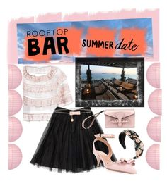 """Rooftop Bar...What would you wear?"" by onesweetthing on Polyvore featuring RED Valentino and Cultural Intrigue"