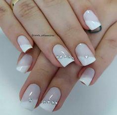 nail tips acrylic At Home Gel Nail Tips, Gel Nail Art, Nail Art Diy, French Manicure Nails, French Nails, Manicure And Pedicure, Diy Acrylic Nails, Diy Nails, Cute Nails