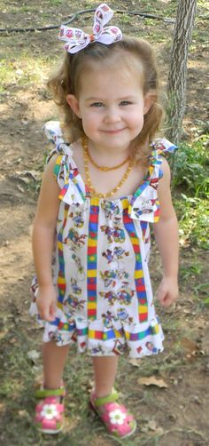 Kids play pillow case dress by BlissfullyOrganic on Etsy, $5.00