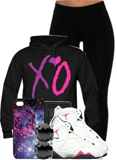 Black xo. One of my favs Swag Outfits, Winter Outfits, Summer Outfits, Casual Outfits, Look Fashion, Teen Fashion, Fashion Outfits, Womens Fashion, Fashion Styles