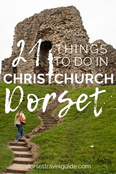 A local's guide to the very best things to see and do in Christchurch on the south coast of the UK. A cute seaside town tucked between the sea and two rivers, wih a ton of history, lots of yummy seafood, and loads of fun things to do! #lovexchurch #christchurch #dorset #england