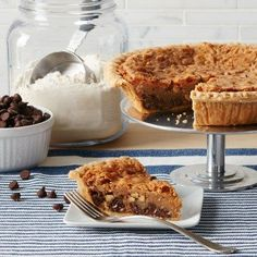 Tates Bake Shop Chocolate Chip Pie *** You can find more details by visiting the image link.