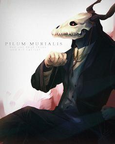 Ellias Ainsworth-Mahou Tsukai no Yome- PILUM MURIALIS by andreadeidei-chan.deviantart.com on @DeviantArt