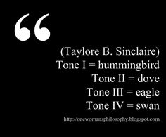"""This quote courtesy of @Pinstamatic (http://pinstamatic.com) LINK: http://onewomansphilosophy.blogspot.com/2011/09/four-tones-as-birds.html taylore b sinclaire illuminessensce. tone I, II, III, IV (correspond to #type1/spring, #type2/summer, #type3/autumn, #type4/winter). carol tuttle wrote in it's just my nature she was originally typed as a """"Tone 3"""" by taylore b sinclaire at an illuminessensce class, so similarities are seen between #dyt & sinclaire.also similarities to segerstrom…"""