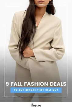 We may be in the midst of a midsummer dream, but the best fall fashion items are hiding in the sale section right now. Here's what to buy. Midsummer Dream, Fuzzy Slippers, Fall Jeans, Nordstrom Anniversary Sale, Fashion Deals, Oversized Cardigan, Tailored Trousers, Fall Sweaters, Shirt Jacket
