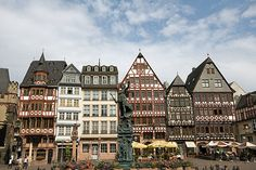 Frankfurt, Germany. First place overseas I visited. I was very overwhelmed