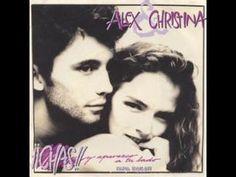 Alex y Christina - Chas! y aparezco a tu lado - 80's Letra - YouTube