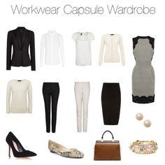 Workwear Capsule Wardrobe by amy-trundell