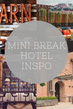 Curing summer wanderlust on the blog with some travel inspo without having to go too far afield. Here's my top 5 hotels that combine luxe with industrial or rustic vibes for a design hotel in a top location. Think reclaimed wood, vintage bowling alleys and converted warehouses.