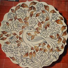 Islamic Patterns, Turkish Tiles, Pottery, Ceramics, Embroidery, Canvas, Drawings, Modern, Painting