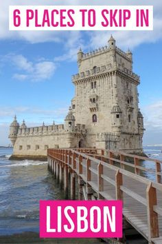 I really hate one-size-fits-all solutions when it comes to travel tips. If you have this pet peeve too, see 6 places to skip in Lisbon and where to go instead. | Skip in Lisbon | Things to skip in Lisbon | What to skip in Lisbon | Places to skip in Lisbon | Places you can skip in Lisbon | Things you can skip in Lisbon