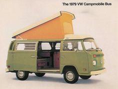 1979 VW Campmobile Bus