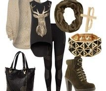 fall, fashion, outfit,