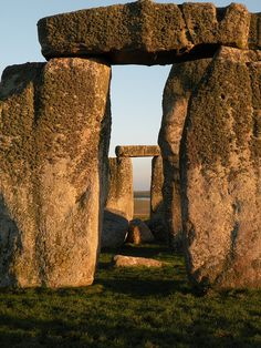 Stonehenge; as many times as I've been to the UK, I've never seen Stonehenge. Sometime soon!