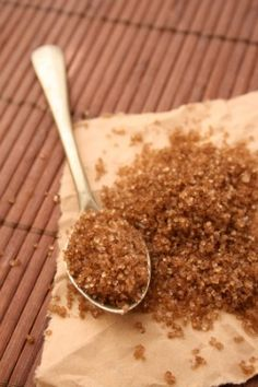 Exfoliation Brown Sugar, Olive Oil body scrub. No more dead skin cells, increases circulation, improves clarity and reveals soft, smooth skin