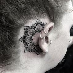 Mandala Tattoo by Heidi Kaye