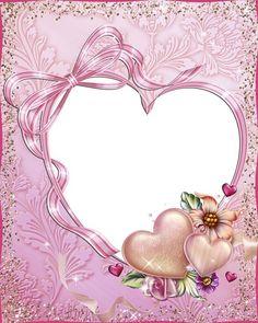 Свадебная PSD фото рамка - влюбленные сердца вместе навсегда