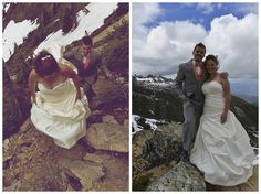 Whimsical Wedding at Kicking Horse Mountain Resort