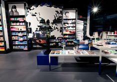 Book Shop Design | Retail Design | Book Display | AKO books & travel