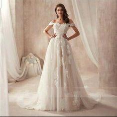 Handmade Wedding Dresses, Lace Beach Wedding Dress, Wedding Dress Sizes, Princess Wedding Dresses, One Shoulder Wedding Dress, Bridesmaid Flowers, Bridesmaid Dresses, Champagne, Dream Wedding