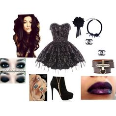 """""""Halloween - Ema"""" by julieety on Polyvore"""