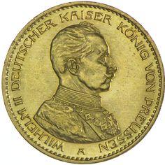 Preussen, Wilhelm II. 1888 - 1918 20 Mark 1913 A Gold Deutsches Kaiserreich