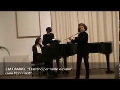 """J.M.DAMASE """"Duettino per flauto e piano"""""""